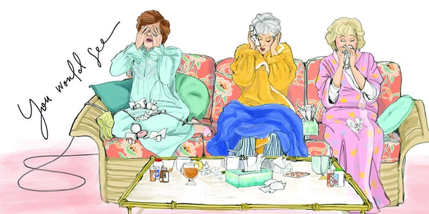 the golden girls picture book