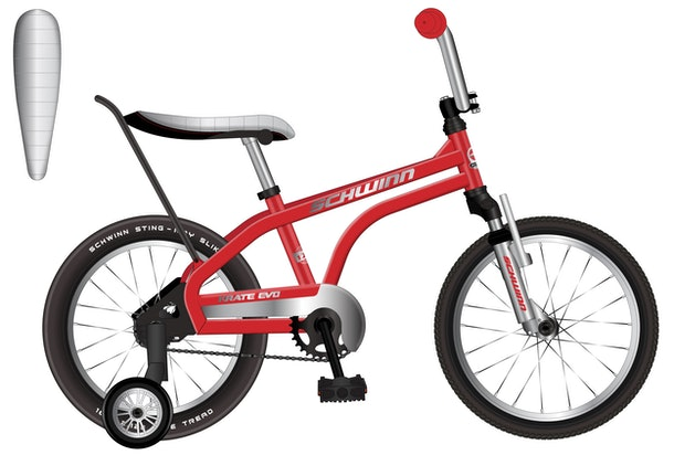 The Schwinn Krate EVO also comes in 11 different colors.