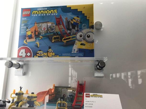 LEGO minions sets