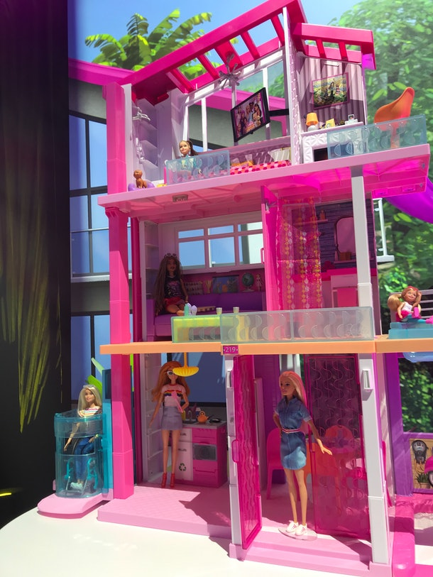 The new elevator will be on all future variations of the Barbie Dreamhouse.