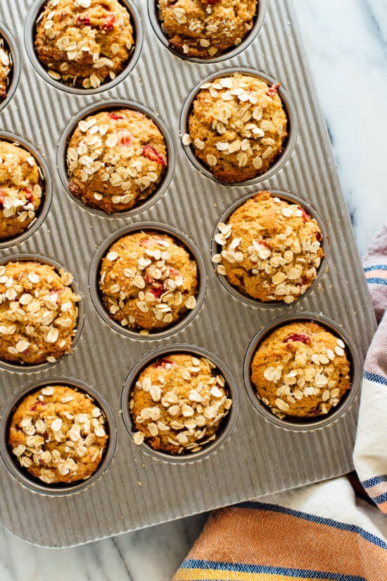 Valentine's Day muffins can be made ahead of time, and are the perfect sweet recipe.