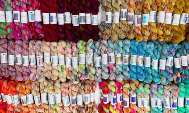 a plethora of gorgeous yarn