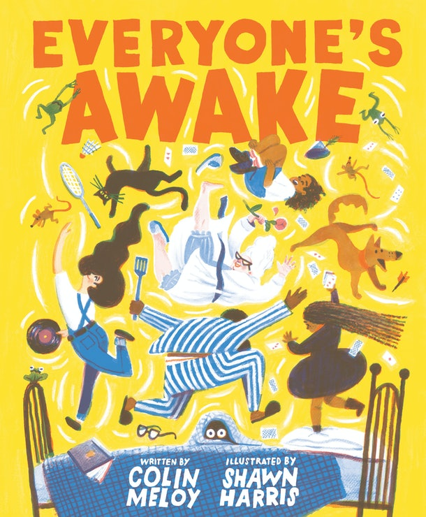 Cover of Everybody's Awake by Colin Meloy, illustrated by Shawn Harris