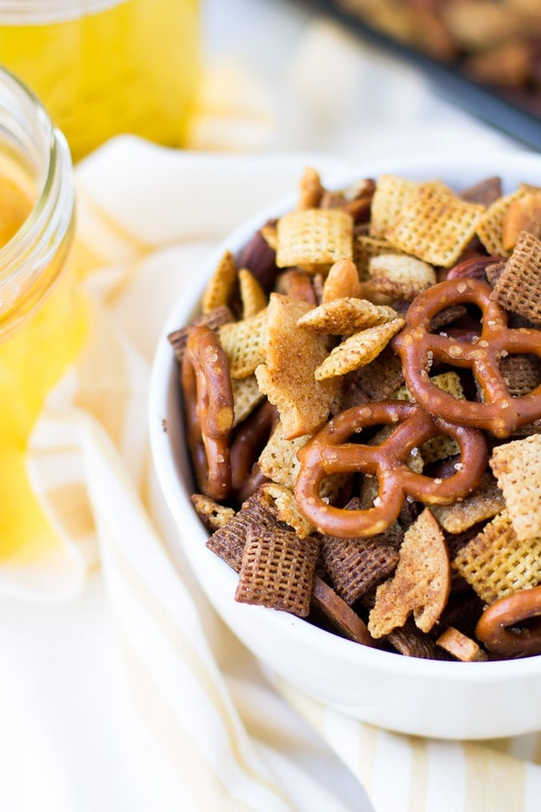 easy homemade Chex mix