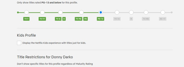 Netflix has rolled out new parental controls.