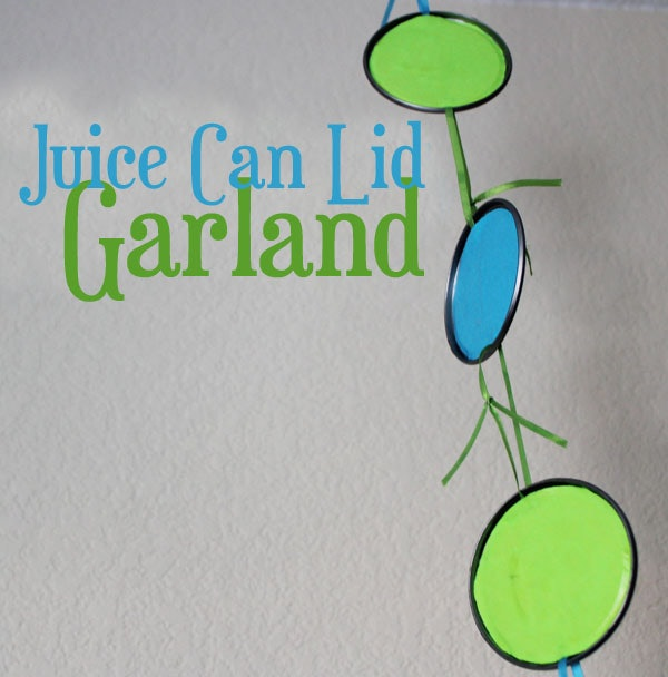 juice can lid garland