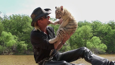 Tiger King, Joe Exotic, with pup