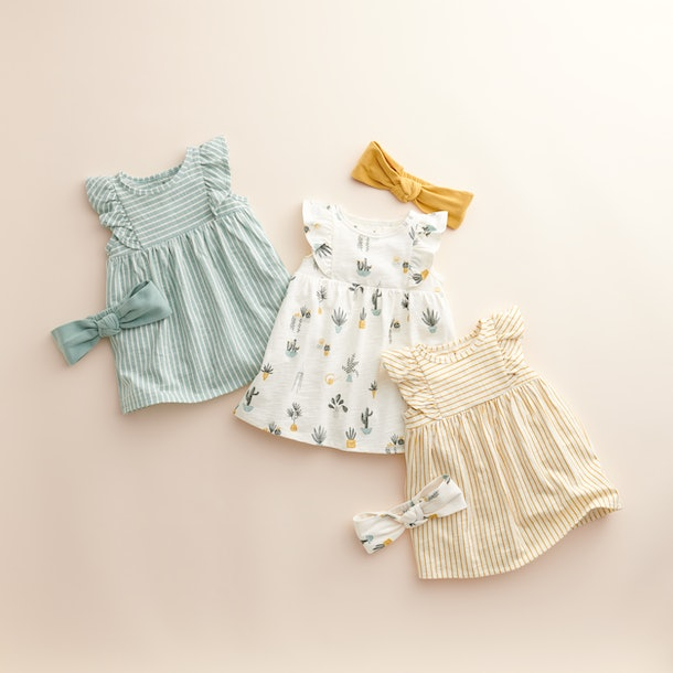 The Little Co. by Lauren Conrad line includes sweet bows, too.