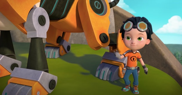 'Rusty Rivets' is an action-packed show