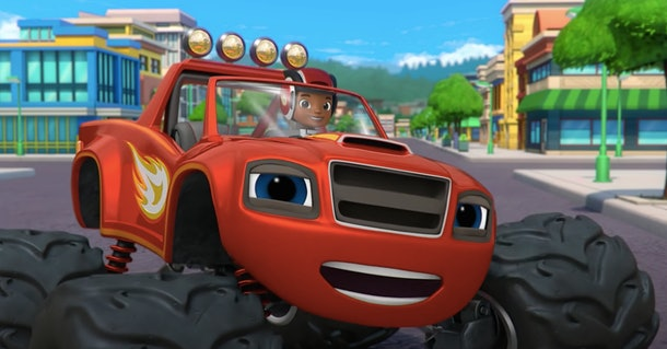 'Blaze & the Monster Machines' is a fun show for kids