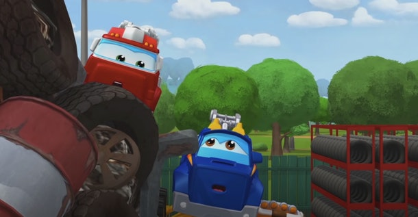 'The Adventures of Chuck & Friends' is full of positive messages for kids