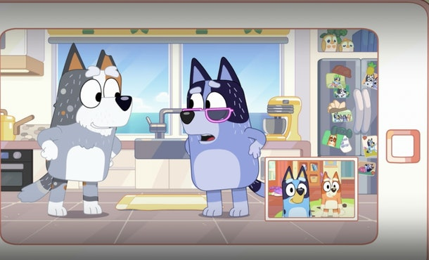 The generational divide on 'Bluey' makes for lots of funny moments