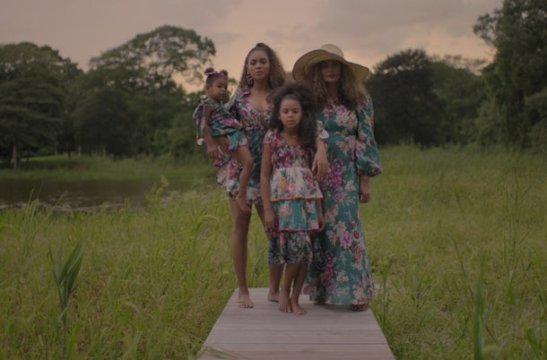 Beyoncè finally showed fans a glimpse of her twins in her new Disney+ special.
