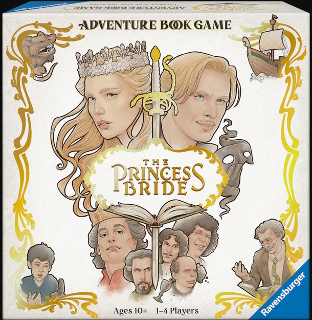 """""""The Princess Bride"""" Adventure Book Game is perfect for your whole family to play together."""