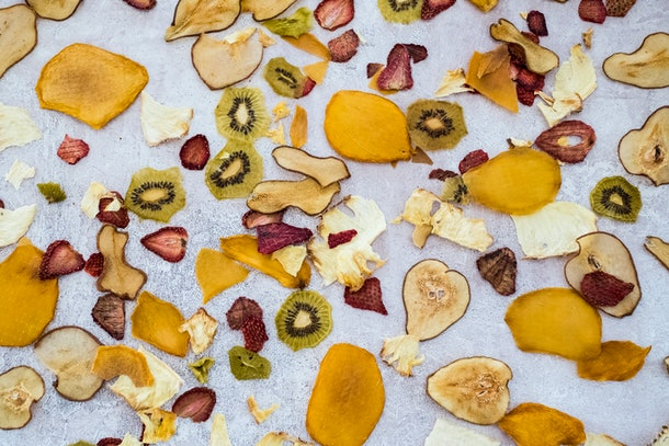 dried fruit as an after-school snack
