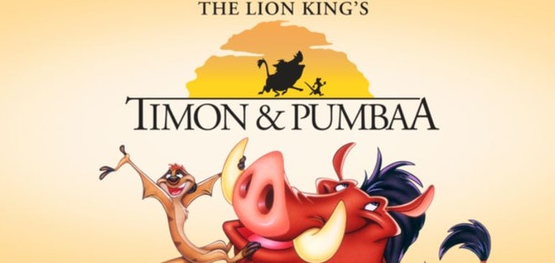 Timon & Pumbaa is an animated series from the late 1990s with characters from The Lion King
