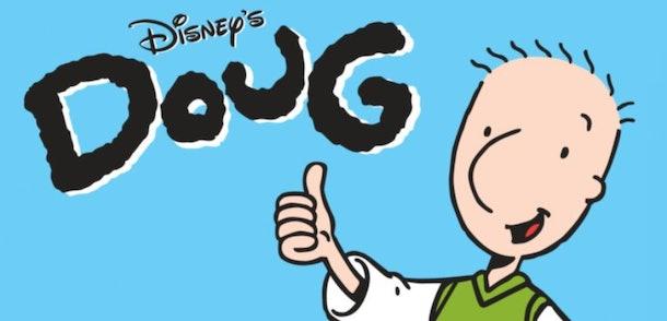Doug is a classic '90s cartoon character