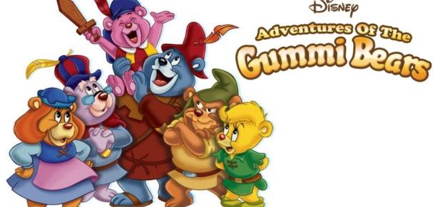 Adventures Of The Gummi Bears was a classic 1980s cartoon