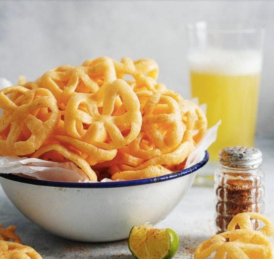 Chicharrones de harinas are an easy after-school snack kids can help make