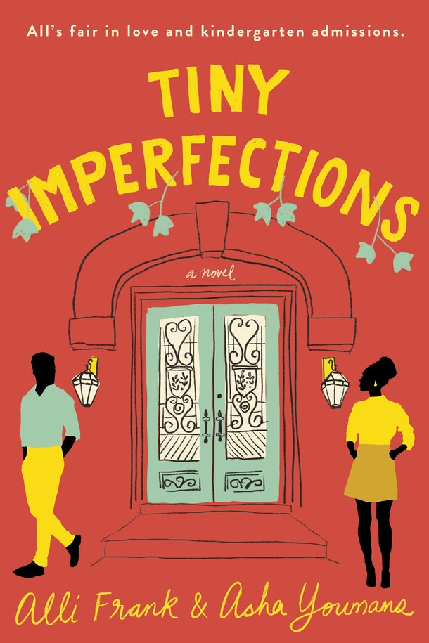 The cover of 'Tiny Imperfections' by Alli Frank and Asha Youmans.