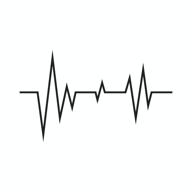 illustration of heartbeat