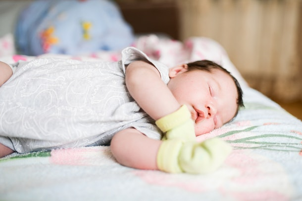 The decision to let babies sleep in mittens is one parents have to weigh the pros and cons of.