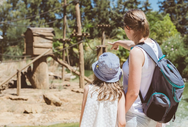 Experts say avoiding indoor areas or communal areas like playgrounds at the zoo can help keep you and your family safe.